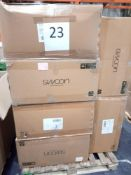 RRP £1000 - Pallet To Contain Assorted Flat Pack Furniture In Part Lots From Swoon Including Coffee