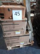 RRP £1400 - Pallet To Contain Assorted Bathroom Furniture From Wayfair Including Corner Sink, Vanity