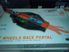 RRP £100 Lot To Contain Two Boxed Hot Wheels Id Race Portals