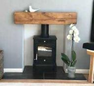 RRP £200 Boxed Wooden Fireplace Mantel