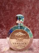 RRP £65 Unboxed 100Ml Tester Bottle Of Versace Eros Pour Femme Eau De Toilette Spray Ex-Display