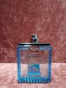 RRP £50 Unboxed 100Ml Tester Bottle Of Versace Man Eau Fraiche Eau De Toilette Spray Ex-Display