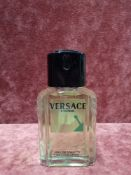 RRP £50 Unboxed 100Ml Tester Bottle Of Versace L'Homme Eau De Toilette Spray Ex-Display