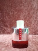 RRP £75 Unboxed 100Ml Tester Bottle Of Prada Sport Luna Rossa Edt Spray Ex-Display