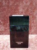 RRP £120 Unboxed 100Ml Tester Bottle Of Tom Ford Noir Eau De Parfum Spray Ex-Display