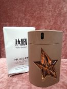 RRP £65 Boxed 100Ml Tester Bottle Of Mugler A*Men Pure Havane Eau De Toilette Spray