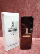 RRP £70 Boxed 100Ml Tester Bottle Of Paco Rabanne 1 Million Prive Eau De Parfum Spray