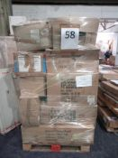 RRP £400 Pallet To Contain Large Assortment Of Christmas Decorations For The Perfect Festive Vibe To