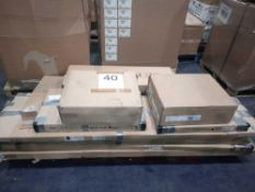 RRP £1000 Pallet To Contain Assorted Household Flat Part Lot Items To Include Side Table, Chest Of D
