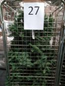 RRP £300 Cage To Contain Ex Display Debenhams Designer Christmas Tree With Led Lights