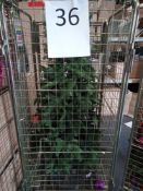RRP £250 Cage To Contain Ex Display Debenhams Designer Christmas Tree With Led Lights