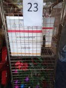 RRP £250 Cage To Contain A Large Assortment Of Top Of The Range Designer Christmas Decorations To In