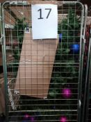 RRP £280 Cage To Include Designer Debenhams Ex Display Christmas Tree With Assorted Sparkly Large Ba