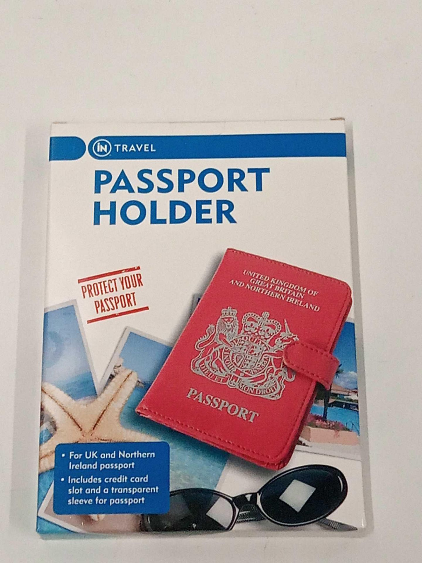 RRP £270 Lot To Contain 89 Brand New Boxed Passport Holders (35 Pink) (54 Black) - Image 2 of 2