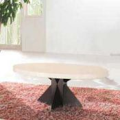 RRP £200 - Boxed 'Athens' Marble Lamp Table (Appraisals Available On Request) (Pictures For