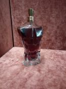 RRP £80 Unboxed 125Ml Tester Bottle Of Jean Paul Gaultier Le Male Eau De Parfum Spray Ex-Display