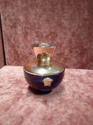RRP £100 Unboxed 100Ml Tester Bottle Of Versace Dylan Blue Eau De Parfum Spray Ex-Display