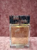 RRP £60 Unboxed 100Ml Tester Bottle Of Moschino Forever Eau De Toilette Spray Ex-Display