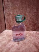 RRP £60 Unboxed 125Ml Tester Bottle Of Hugo Boss Eau De Toilette Spray Ex-Display