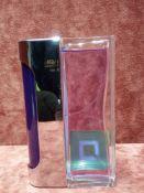 RRP £60 Unboxed 100Ml Tester Bottle Of Paco Rabanne Ultraviolet For Men Eau De Toilette Spray Ex-Dis
