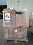 RRP £1300 Pallet To Contain Approximately 100 Rolls Of Assorted Wallpaper In Assorted Designs And Co