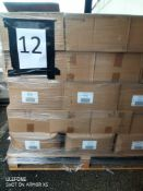 Pallet 12 Combined RRP £3580 Pallet To Contain 149 Organic Essential Oils & Care Set With Travel Bag