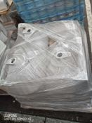 Pallet 13 Combined RRP £250 Pallet To Contain 19 Shell Basin In White All Grade A Slow Moving Stock