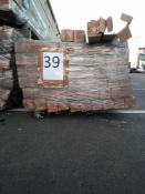 Combined RRP £3570 Pallet To Contain 255 Gold Curtain Pole 200Cm