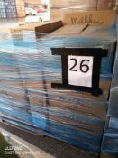 Pallet 26 Combined RRP £480 Pallet To Contain 24 Assorted Carpet Tiles 4.5-5,Sqm Per Carton All Gra