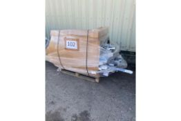 Combined RRP £1500 Pallet To Contain A Large Amount Of Assorted Curtains Poles In Assorted Sizes And