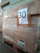 Combined RRP £2100 Pallet To Contain 1053 Ace 1 Port Wall Plate All Grade A Slow Moving Stock In