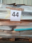 Combined RRP £480 Pallet To Contain 16 White Basin 1Th 60Cm All Grade A Slow Moving Stock In A