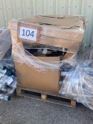 Combined RRP £1500 Pallet To Contain Approximately 100 Or More Assorted Curtains Poles