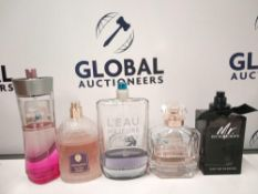 RRP £300 Box To Contain 10 Assorted Ex Display Designer Fragrance Testers In Various Volumes (Fragra