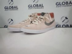 RRP £120 Unboxed Nike Blazers In Biege Suede