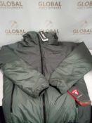RRP £120 Unbagged Adidas Ferrex Windweave Jacket In Green Medium Size