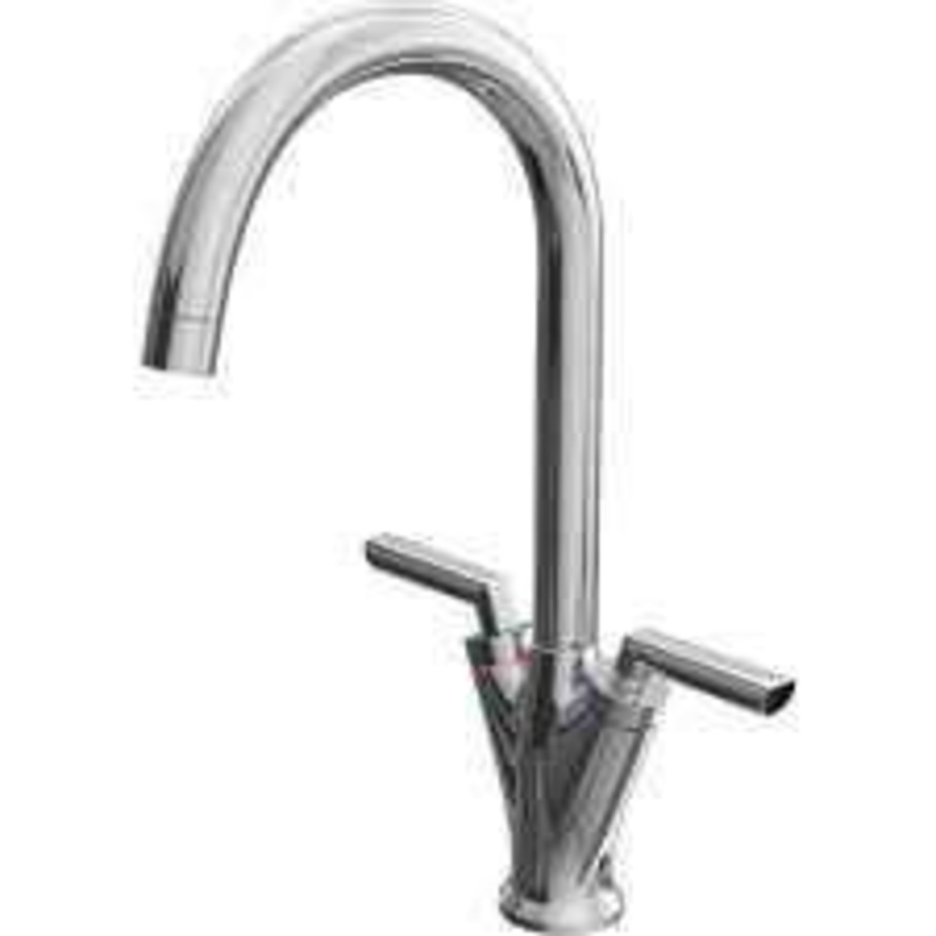 Combined RRP £170 Lot To Contain 3 Boxed Assorted Cooke & Lewis Stainless Steel Lever Taps - Image 3 of 3