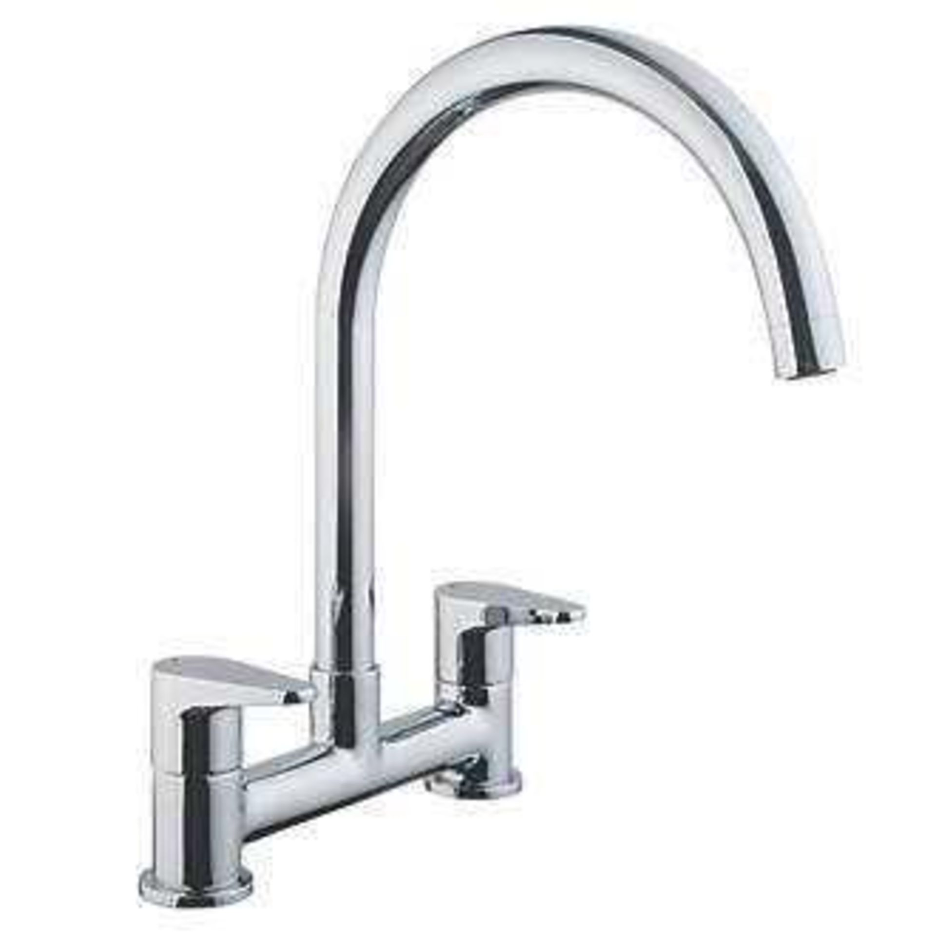 Combined RRP £170 Lot To Contain 3 Boxed Assorted Cooke & Lewis Stainless Steel Lever Taps - Image 2 of 3