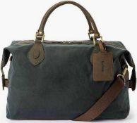 RRP £215 Bagged Barbour Medium Travel Explorer Bag In Olive