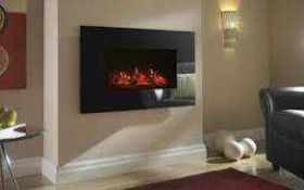 Combined RRP £170 Boxed Charmouth Led Electric Fire