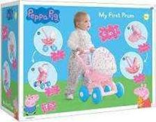 Combined RRP £125 Lot To Contain Boxed Peppa Pig 4 in 1 My First Pram, Vtech Husky And Bagged Baby