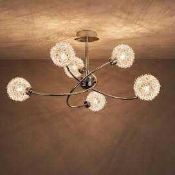 Combined RRP £165 Lot To Contain 2 Boxed Colours Designer Ceiling Light