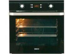 RRP £130 Unboxed Single Fan Oven In Black