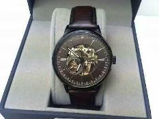 RRP £180 Boxed Hamon And Co Stainless Steel Wrist Watch