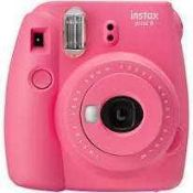 RRP £100.Boxed Instax Mini 9 Instant Print Camera Grade A Tested And Working