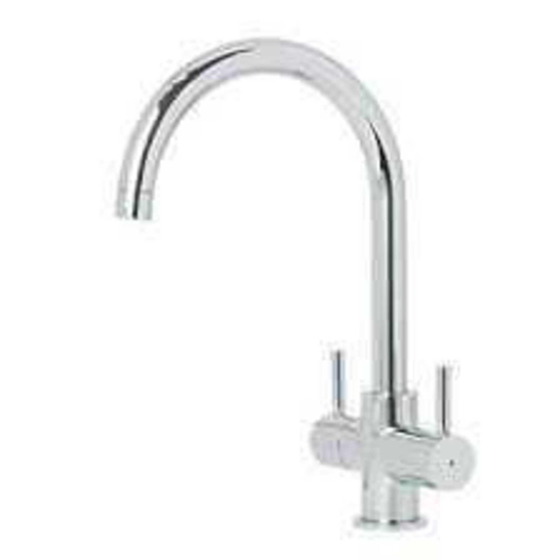 Combined RRP £170 Lot To Contain 3 Boxed Assorted Cooke & Lewis Stainless Steel Lever Taps