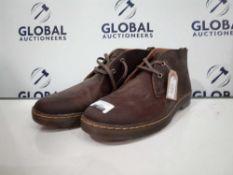 RRP £130 Unboxed Dr.Martens Men's Boots In Mocha Size 12