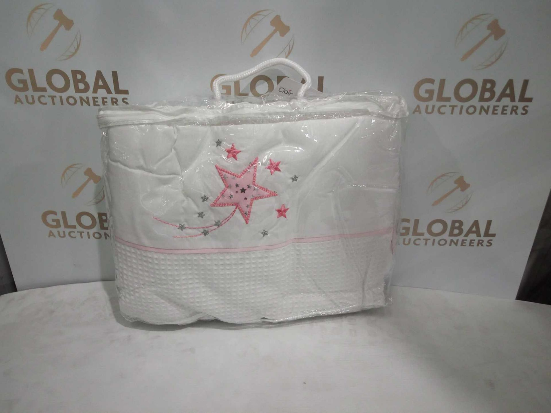 Combined RRP £150 Lot To Contain 5 Assorted Bagged Baby Soft Items To Include Sheets, Blankets And P - Image 4 of 5