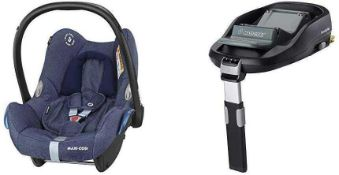 RRP £175 Boxed Maxi-Cosi Familyfix To Car Safety Seat Base
