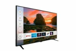 RRP £550 Boxed Techwood 65 Inch Ultra Smart Hd Tv